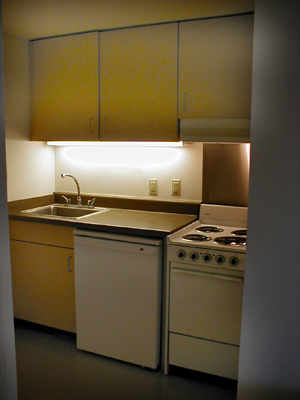 Efficiency Kitchen your furnished room